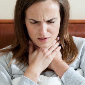 טיפול בכאבי גרון